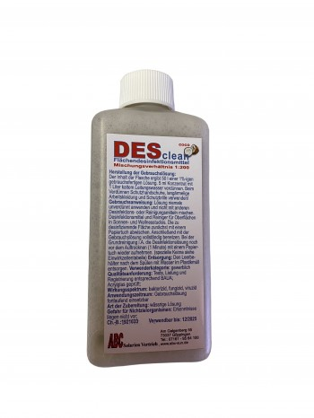 DESclean - Coco Flächendesinfektionsmittel  (250 ml)