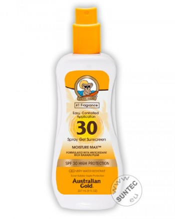 Australian Gold - SPF 30 Spray Gel (237 ml)