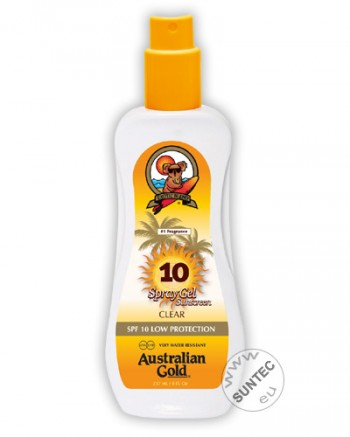 Australian Gold - SPF 10 Spray Gel (237 ml)