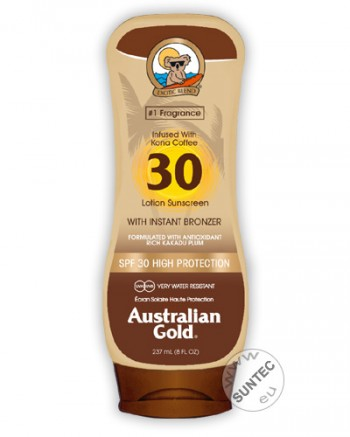 Australian Gold - SPF 30 Lotion mit Bronzer (237 ml)