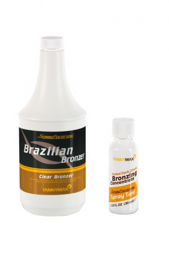 Tannymaxx - Spray Tan Direct Bronzer Brazilian (1000 ml + 30 ml)