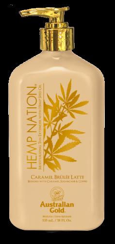 Australian Gold - Hemp Nation Caramel Brulee Latte Body Lotion (535 ml)