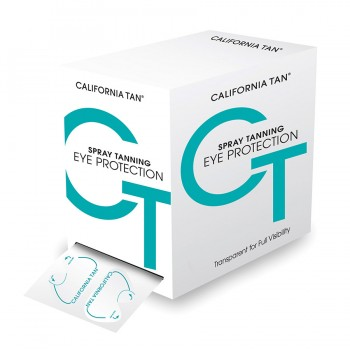 California Tan - Sunless Clear Disposable Eyewear (200er)