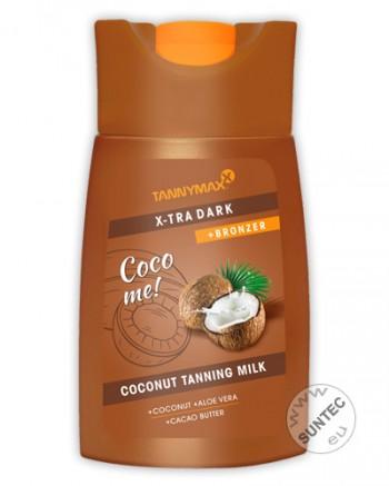 Tannymaxx - X-tra Dark Coconut Tanning Milk + Bronzer (200 ml)