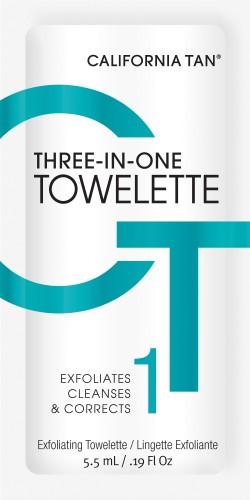 California Tan - Thress-In-One Towelette (5,5 ml)