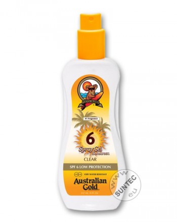 Australian Gold - SPF 6 Spray Gel (237 ml)