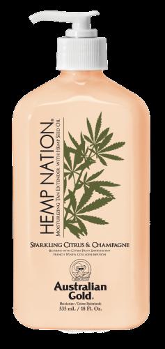 Australian Gold - Hemp Nation Sparkling Citrus & Champagne Body Lotion (535 ml)