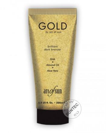 Art of Sun - GOLD brilliant dark bronzer (200 ml)