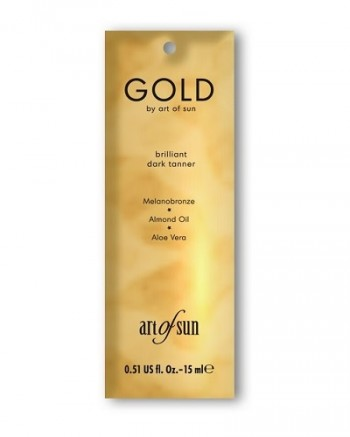 Art of Sun - GOLD brilliant dark tanner (15 ml)