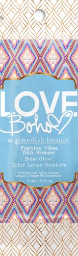 Swedish Beauty - Love Boho Positive Vibes DHA Bronzer (15 ml x 10 Stück)